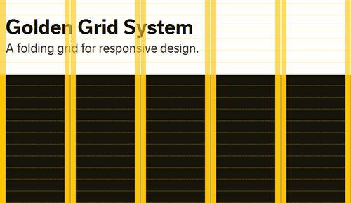 Folding Grid for Responsive Design