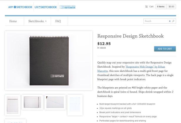 Responsive Design Sketchbook