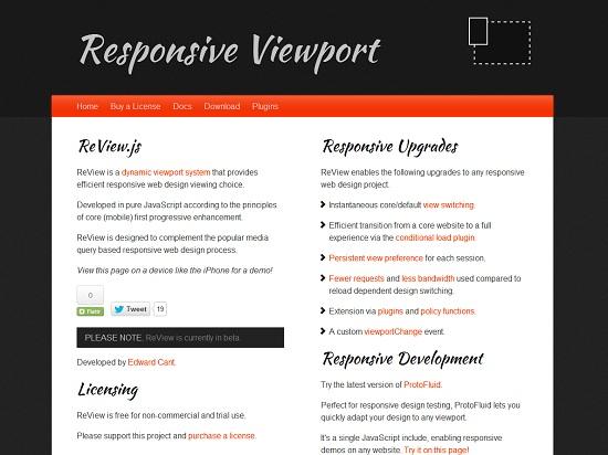 Responsive ViewPort