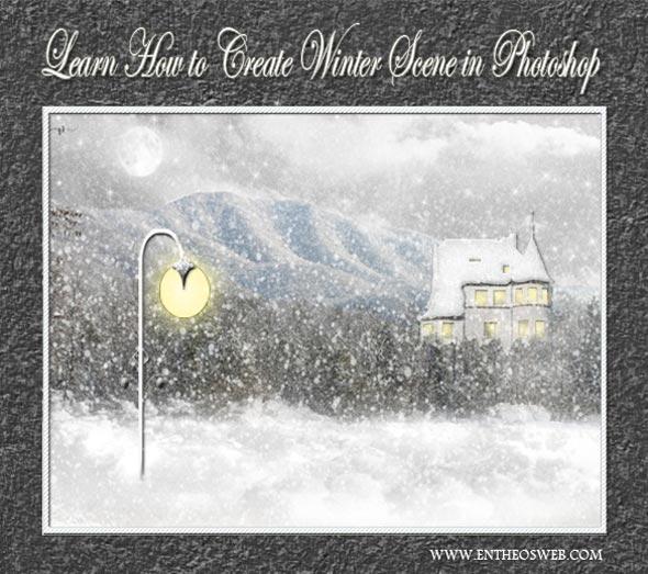 Create a Winter Scene