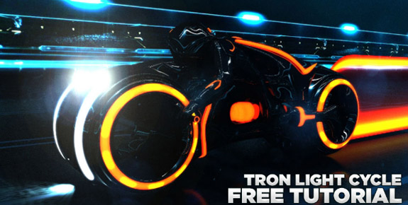 Building Your Own Tron Light Cycle
