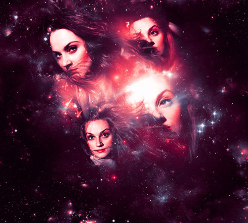 Magical Four-Piece Stardust Composition