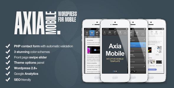Axia Mobile Theme