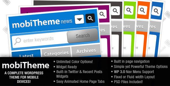 mobiTheme - WordPress Theme