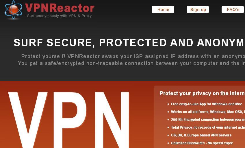 VPN Reactor
