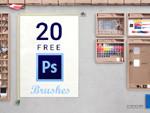 20 Free Adobe Photoshop Brushes