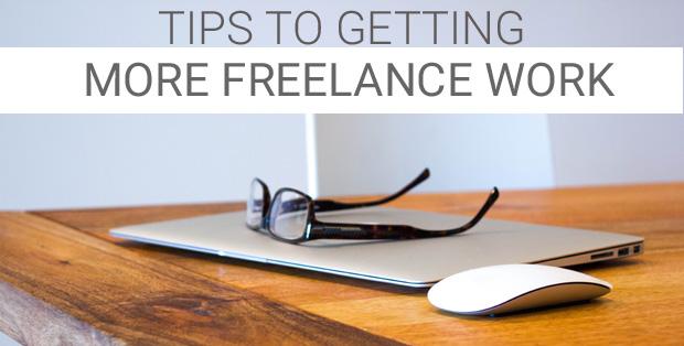 getting more freelance work