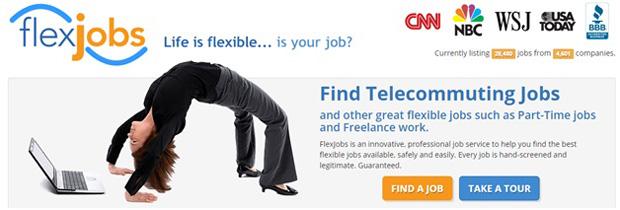 flex jobs website