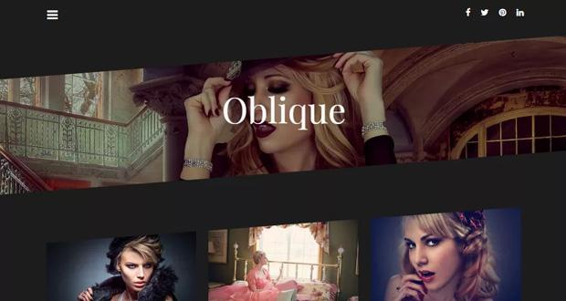 oblique wp theme