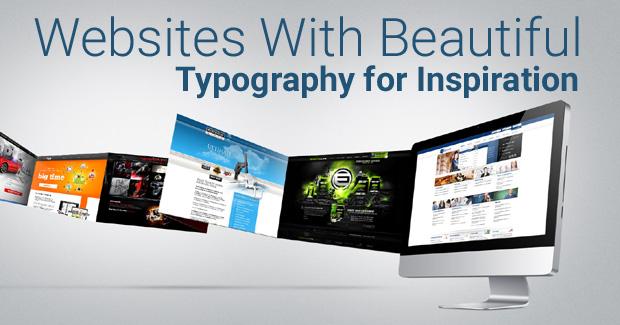website typography inspiration