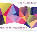 Highly Interactive Websites for Inspiration