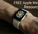 FREE Apple Watch Design Resources