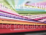 Elegant Stationery Designs for Inspiration
